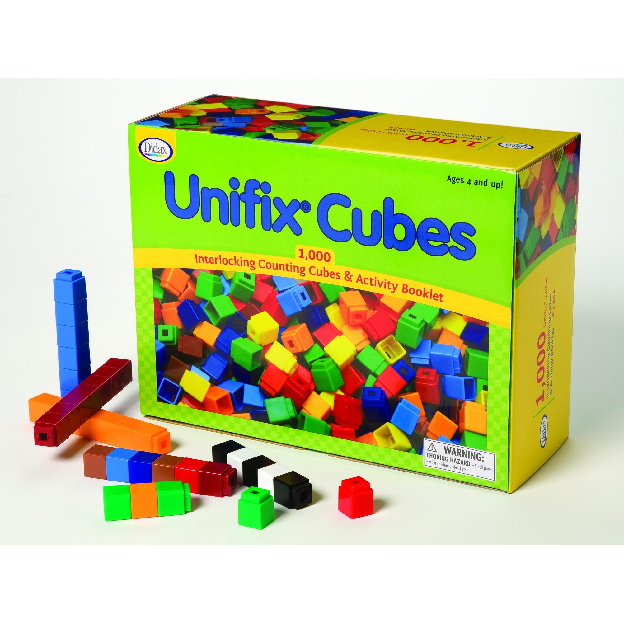 DIDAX Unifix Cube Set (Package of 1000) (Unifix Cube Set)