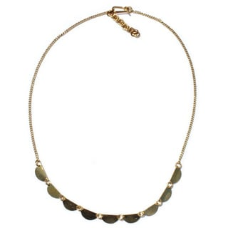 Brass Stevie Necklace (Kenya)
