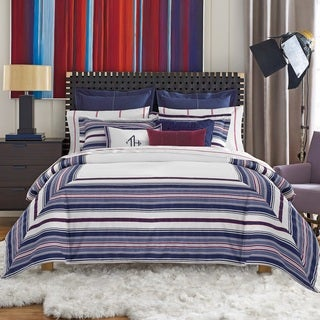 Tommy Hilfiger Sutton Stripe Cotton Duvet Set Free Shipping Today 17882888
