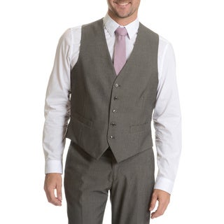 Perry Ellis Men's Vest Suit Separate Grey