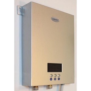Shop Marey Eco 270 Electric Tankless Water Heater 27 Kw 220v Free Shipping Today Overstock