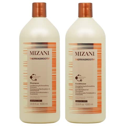Mizani Thermasmooth 33.8-ounce Shampoo & Conditioner Duo Set
