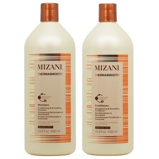 Mizani Thermasmooth 33.8 oz. Shampoo and Conditioner Duo Set