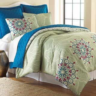 Amraupur Overseas Zarine 6-piece Comforter and Coverlet Set