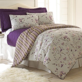 Chloe Reversible 6-piece Comforter and Coverlet Set