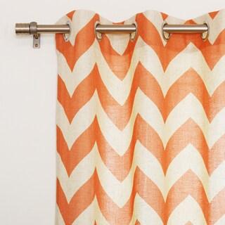 Orange, Machine Wash, Linen Curtains & Drapes - Shop The Best ...