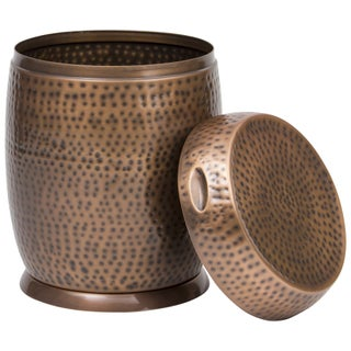 Bombay Outdoors Madras Drum Side Table (Option: Copper)
