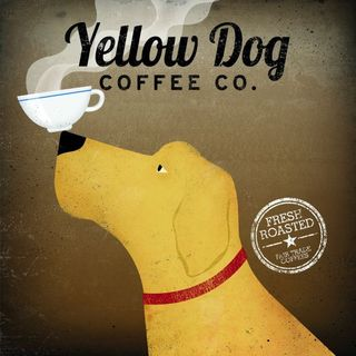 Ryan Fowler 'Yellow Dog Coffee Co' Gallery Wrapped Canvas