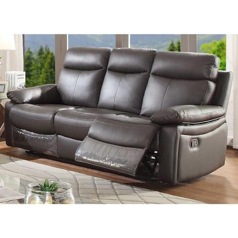 Ryker Leather Reclining Sofa