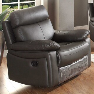 Ryker Leather Glider Reclining Chair