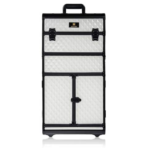 SHANY REBEL Series Pro Makeup Artists Rolling Train Trolley Case