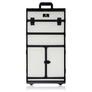 Link to SHANY REBEL Series Pro Makeup Artists Rolling Train Trolley Case Similar Items in Makeup Brushes & Cases