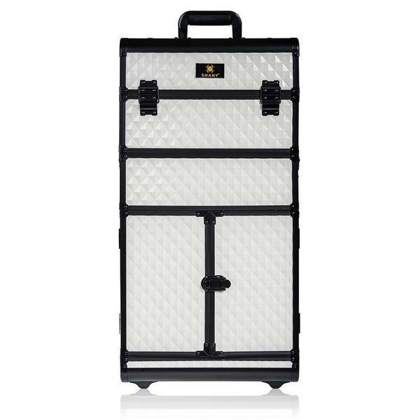 SHANY REBEL Series Pro Makeup Artists Rolling Train Trolley Case. Opens flyout.