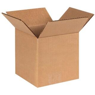 6x6x6 Corrugated Brown Shipping Box
