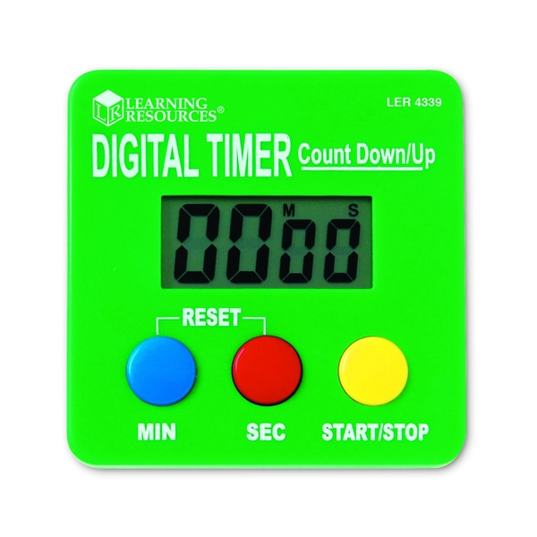 Learning Resources Digital Timer (Pack of 2)