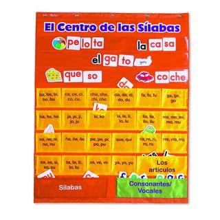 El Centro de las silabas Pocket Chart