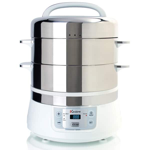 Shop Euro Cuisine FS2500 Stainless Steel Electric Food