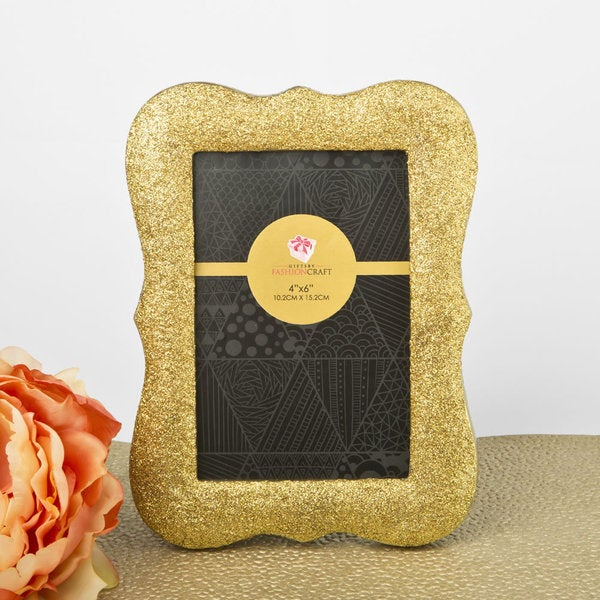 Gold Glitter Photo Frame