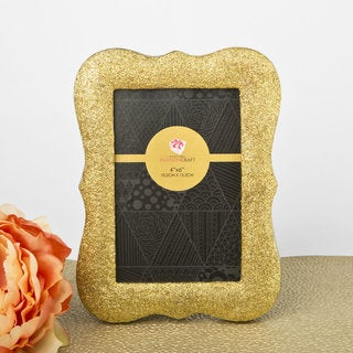 Gold Glitter Photo Frame