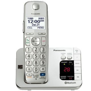 Panasonic KX-TGE260S DECT 6.0 Plus Link-to-cell Bluetooth Cordless Phone System (refurbished)