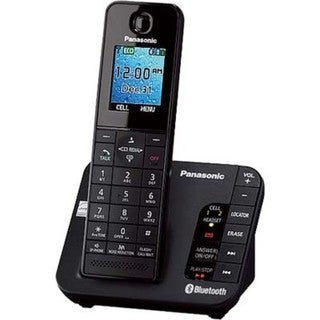 Panasonic KX-TGH260B Link2Cell Bluetooth Enabled Phone with Color LCD Display, 1 Handset (Refurbished)