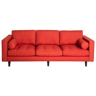 Metropolitan Orange Lido Fabric Sofa