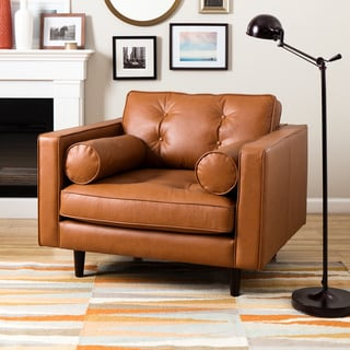 Metropolitan Caramel Metro Leather Chair