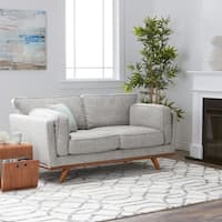 Palm Canyon Astoria Austria Fabric Loveseat