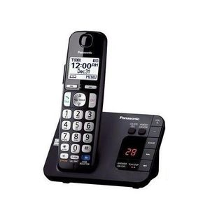Panasonic KX-TGE230B DECT 6.0 Plus Cordless Landline Phone System (refurbished)