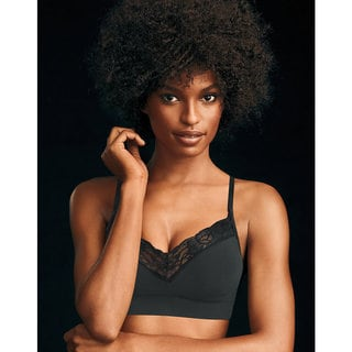 Maidenform Women's Fit to Flirt Seamless Lace T-back Bra