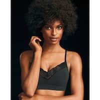 Maidenform Women's Fit to Flirt Seamless Lace T-back Bra