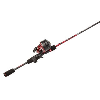 Abu Garcia Abumatic SX Combo 10 3.6:1 Gear Ratio 6' 2-piece Rod Medium Ambidextrous