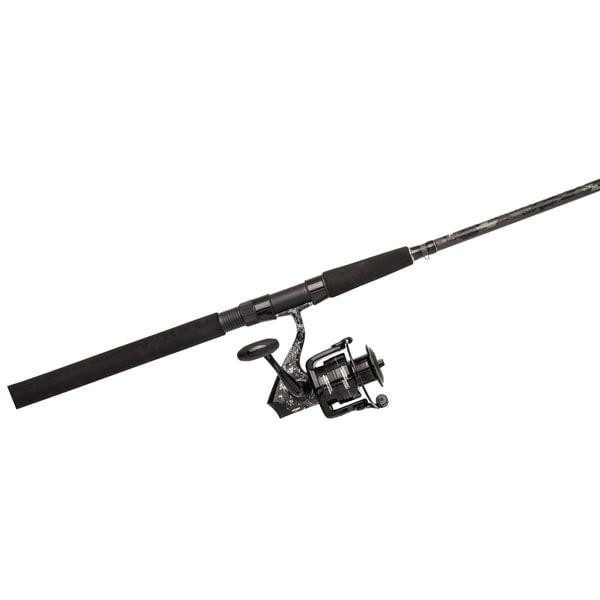 Abu Garcia Catfish Commando Spin Combo 60 4.8:1 Gear Ratio 7' 1-piece Rod Ambidextrous