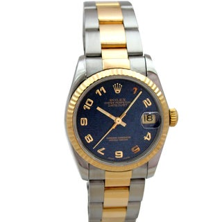 Pre-owned Midsize Rolex Datejust Watch