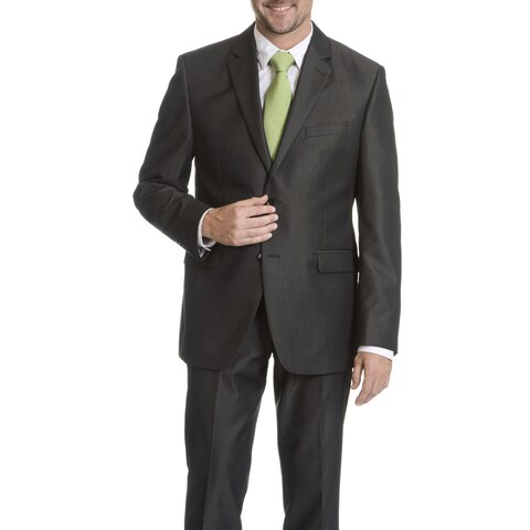 Perry Ellis Men's Grey Slim Fit Suit Separate Blazer