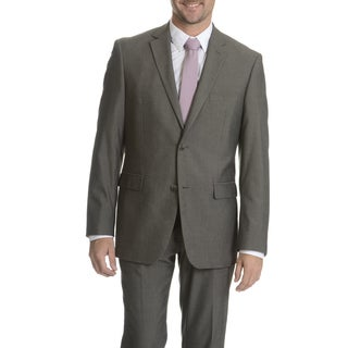 Perry Ellis Men's Grey Slim Fit Separate Suit Blazer