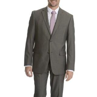 Perry Ellis Men's Grey Slim Fit Separate Suit Blazer