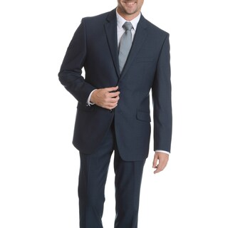 Perry Ellis Men's Blue Slim Fit Suit Separate Blazer