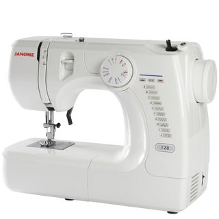 Janome Basic Easy-to-Use 128 Sewing Machine with Bonus Quarter Inch Seam Foot