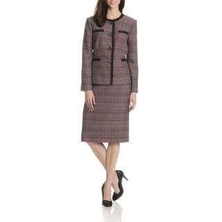 Danillo Women's Boucle 2-Piece Skirt Suit