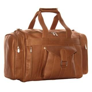 Piel Leather Loop Large Pocket Duffel Bag