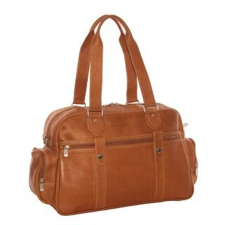 Piel Leather Adventurer 18-inch Carry-On Satchel Duffel Bag