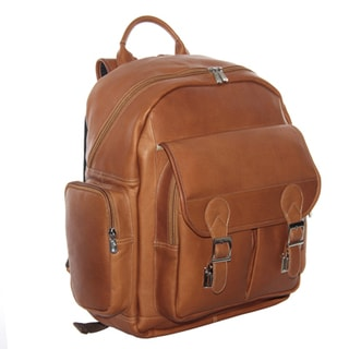 Piel Leather Ultimate Travelers Laptop Backpack