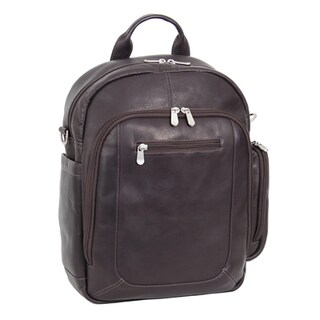 Piel Leather Laptop Backpack/Shoulder Bag