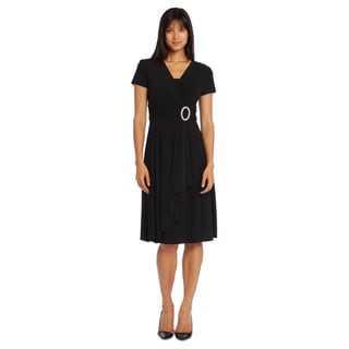 R & M Richards Women's Short Ring Dress