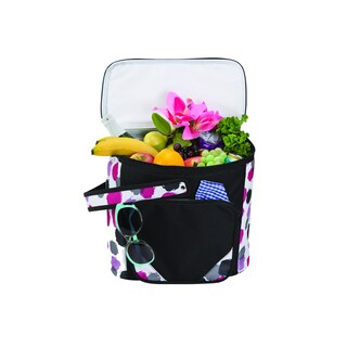 Fashion Outdoor Picnic Insulated Cooler Tote (Option: Pink)