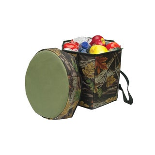 Camo outdoor picnic folding portable game cooler seat