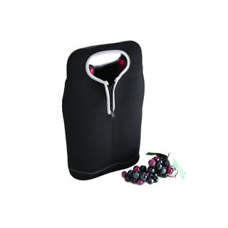 Dual Neoprene 2 bottle wine carrier (2 options available)