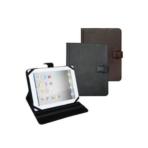 Goodhope Grain Cowhide Leather Universal Tablet E-reader Case