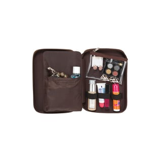 Goodhope Deluxe Croc Leather Cosmetic Toiletry Case